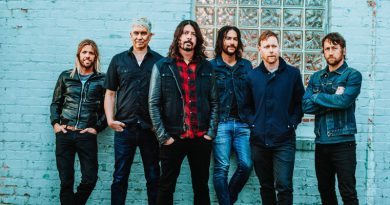 a photo of the band Foo Fighters