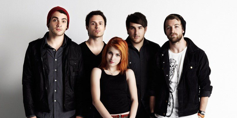 a photo of Paramore band