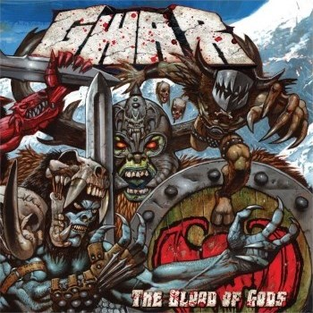 front of gwar's latest album